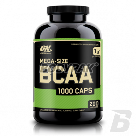 Optimum Nutrition BCAA 1000 - 200 kaps.