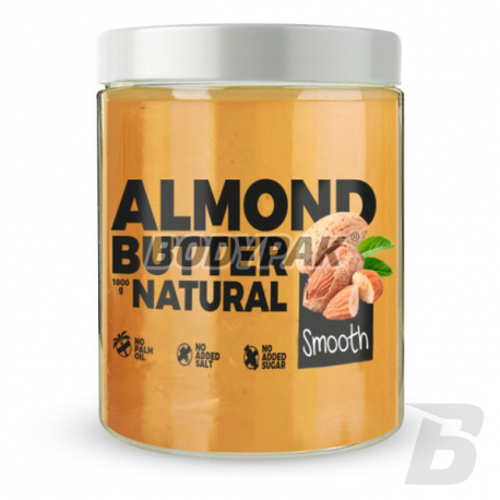7Nutrition Almond Butter Smooth - 1kg