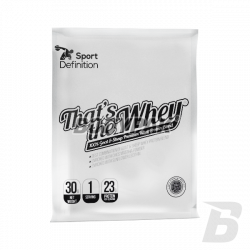 Sport Definition That's the Whey 100% Goat & Sheep Premium Whey Protein Blend - 30g