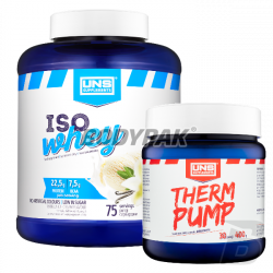 UNS Iso Whey - 2250g + UNS Therm Pump - 400g GRATIS!