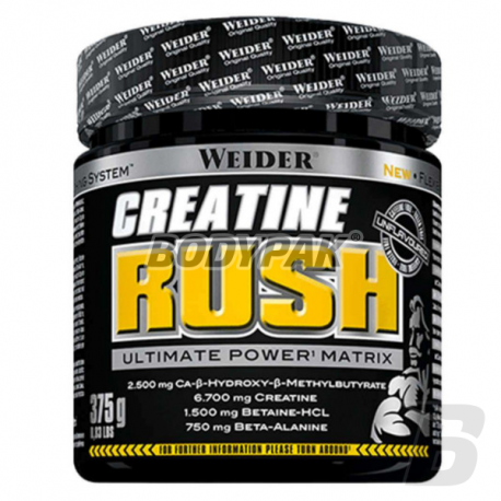 Weider Creatine Rush - 375g