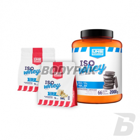 UNS Iso Whey - 2000g + 2*500g