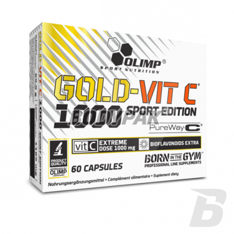 Olimp Gold Vit-C 1000 Sport Edition 60 kaps