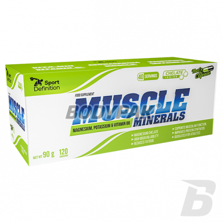 Sport Definition Muscle Minerals - 120 kaps.