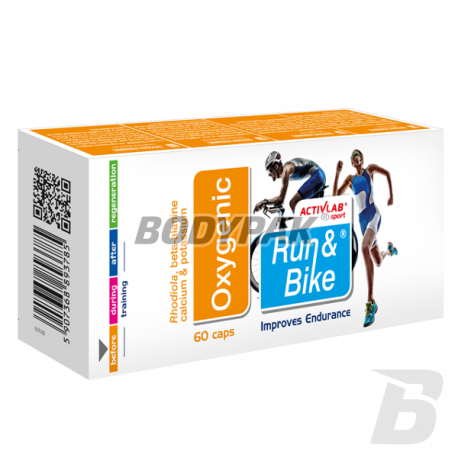 Activlab Run & Bike Oxygenic - 60 kaps.