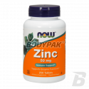 NOW Foods Zinc Gluconate 50mg - 250 tabl.