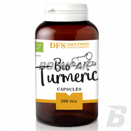Diet Food Bio Kurkuma - 200 kaps.