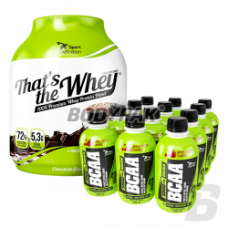 Sport Definition That's The Whey - 2,27 kg + BCAA 5500 DRINK 12 x 250 ml [GRATIS]