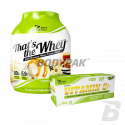 Sport Definition That's The Whey - 2270g + Vitamin C+ 1525mg  - 120 kaps. [GRATS]