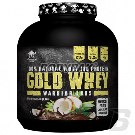 Warrior Labs Gold Whey - 1,8kg