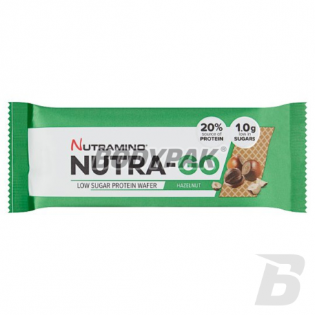 Nutramino NUTRA-GO Low Sugar Protein Wafer - 39g