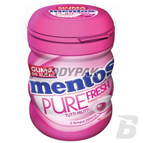 Mentos Pure Fresh Tuti Fruti Bottle Sugarfree - 60g