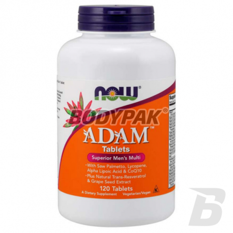 NOW Foods Adam Tablets - 120 tabl.
