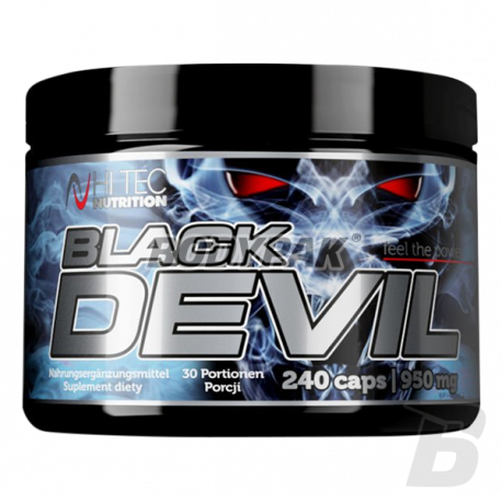 Hi Tec Black Devil - 240 kaps.