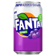 Fanta Zero Sugar [Grape] - 330 ml