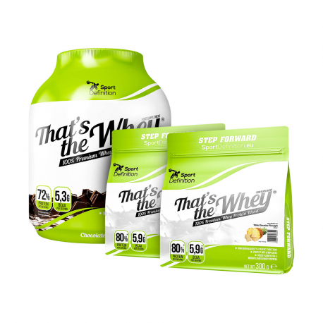 Sport Definition That's The Whey - 2270g + 2 x 300g [GRATIS]
