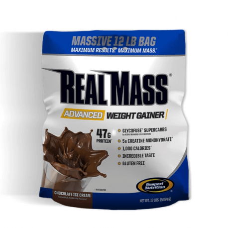 Gaspari Nutrition Real Mass - 5454g