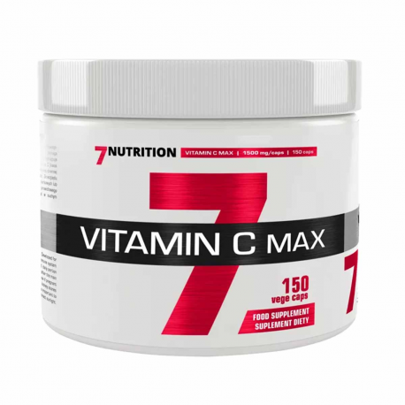 7Nutrition Vitamin C 1500mg - 150 kaps.