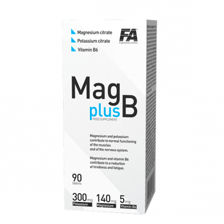 FA Nutrition Mag Plus B - 90 tabl.
