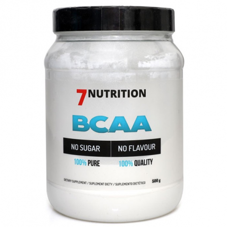7Nutrition BCAA 2:1:1 100% Pure - 500 g