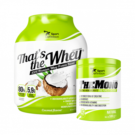 Sport Definition That's The Whey - 2270 g + The Mono - 500 g