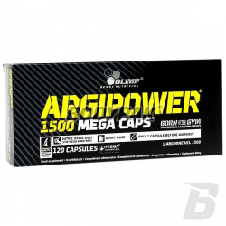 Olimp Argi Power 1500 Mega Caps - 120 kaps.