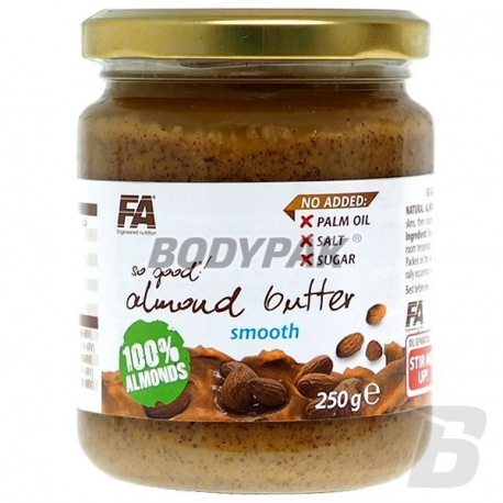 FA Nutrition So Good! Almond Butter Smooth 100% [Migdał] - 250g