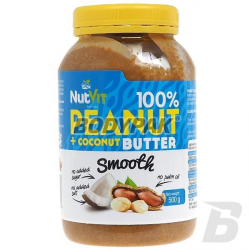Ostrovit NutVit 100% Peanut + Coconut Butter Smooth - 500g
