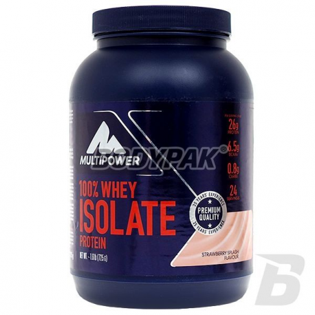Multipower 100% Whey Isolate Protein - 725g