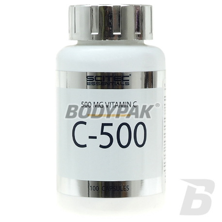Scitec Essentials C-500 - 100 kaps.