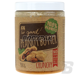 Fitness Authority So Good! Peanut Butter Crunchy 100% - 900g