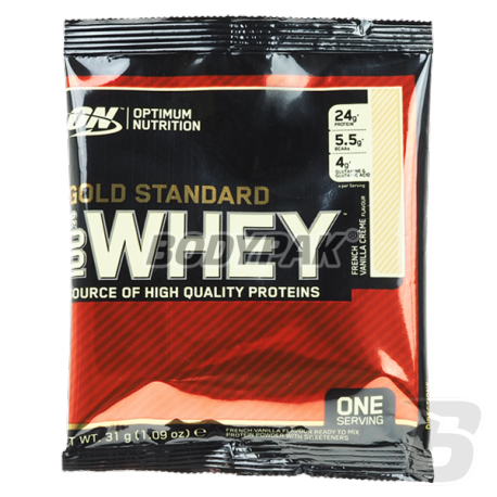 Optimum Nutrition 100% Whey Gold Standard - 1 sasz.