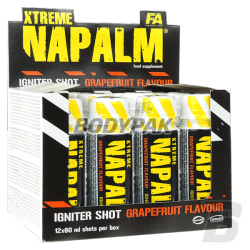 FA Nutrition Xtreme Napalm Shot (60ml) - 20amp. BOX