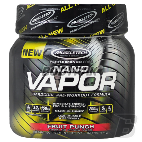 MuscleTech naNO Vapor Performance Series  - 477g