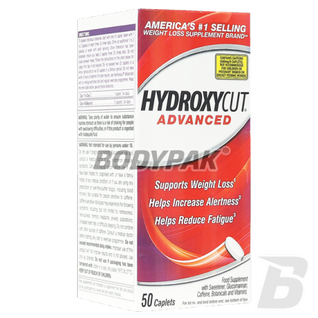 MuscleTech Hydroxycut Advanced - 50 tabl.