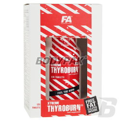 Fitness Authority Xtreme Thyroburn - 120 tabl.