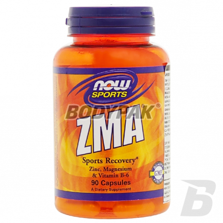 NOW Foods ZMA Sports Recovery - 90 kaps.