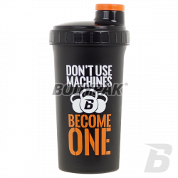 BODYPAK Shaker black MACHINES 700ml
