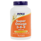 NOW Foods Super Omega 3-6-9 1200mg - 180 kaps.