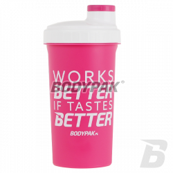 BODYPAK Shaker If Taste Better - Works Better [PINK] - 700ml